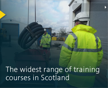 The widest range of training courses in Scotland