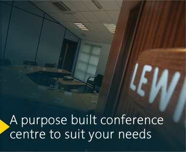 A purpose built Conference Centre to suit your needs
