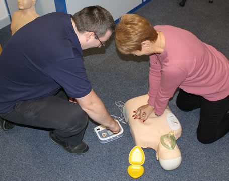 First Aid Refresher + Defibrillator Awareness update.