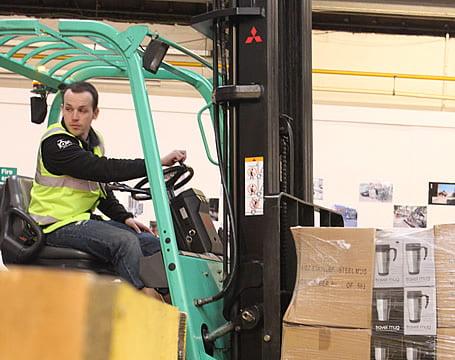 Forklift Truck Operator Conversion - Reach Truck