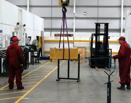 Overhead Gantry Crane Operator