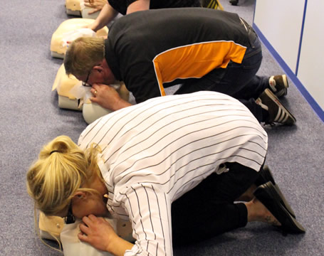 First Aid at Work including Defibrillator Awareness