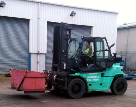 Forklift Truck Operator Conversion